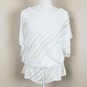WHBM see through cover up top